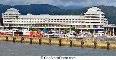 Cairns Marlin Marina in Queensland Australia Located at the...
