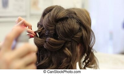 Creating A Beautiful Wedding Hairstyles HD