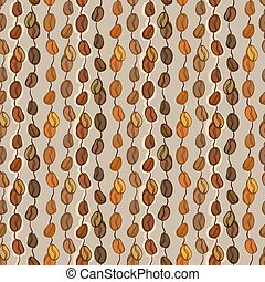Seamless coffee texture - Orange red brown seamless pattern...