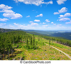 National park Sumava in Czech Republic