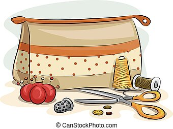 Sewing Kit Bag