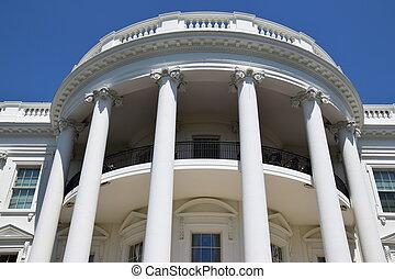 The White House in Washington, DC USA