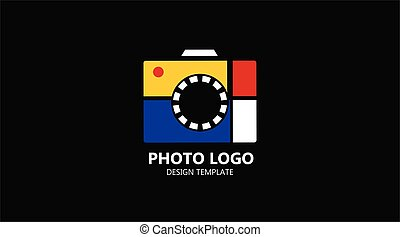photography studio - Logo template photography studio,...