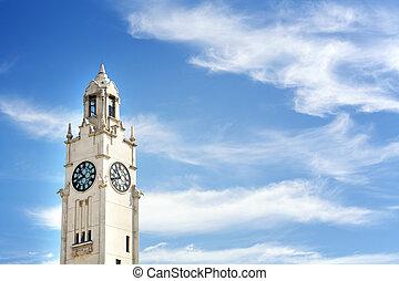 Montreal Clock Tower - Montreal clock tower, Quai de...