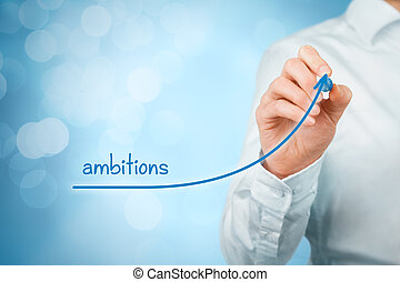 Ambitions - Growing ambitions and personal development...