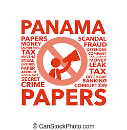 Panama Papers Scandal graphic