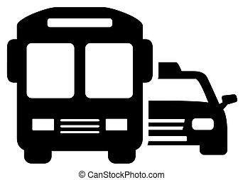 social transport symbol
