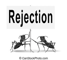 rejection - Rejection letter for job vacancy or fear to get...