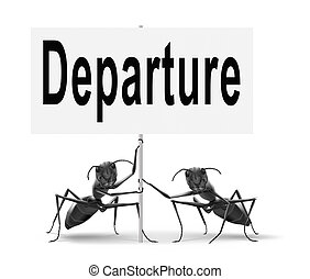 departure starting point of a journey depart departure icon...