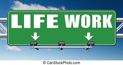 work versus life - work life balance burnout stress test...