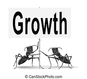 economic growth - growth, grow in economic market stock or...