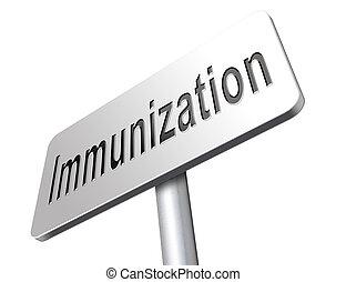immunization and vaccination - Immunization or flu...