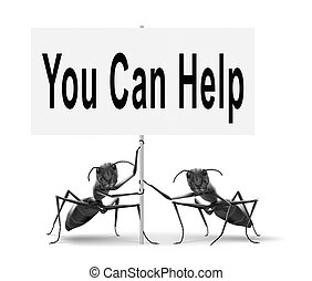 you can help us