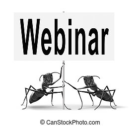 webinar online conference internet web meeting or workshop...