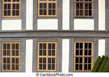 Fenster Fachwerk - window timber framing 02