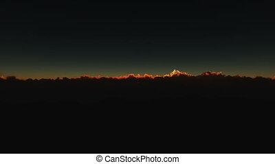 orbit planet sunrise