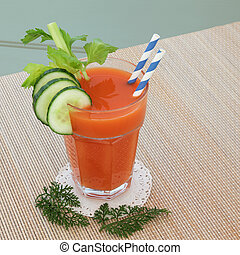 Carrot Juice Health Drink