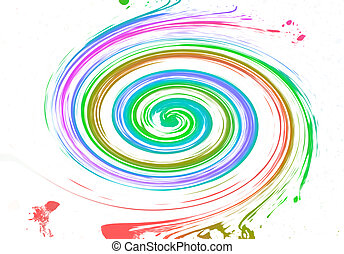 Multicolor background - abstract multicolor background from...