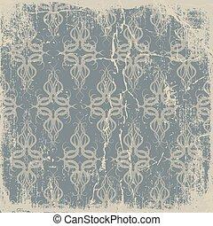 old paper, pattern vintage background