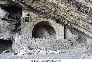 Chaliapin Grotto in Crimea, Russia