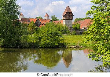 old town Dinkelsbuehl in Germany