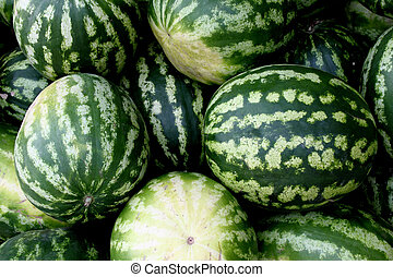 Fresh water-melons