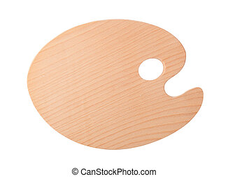 木制, 調色板, 藝術