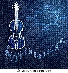 denim music