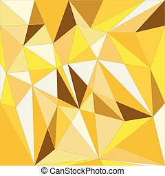 jewel - Vector golden geometric background
