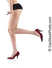 sexy woman\'s leg