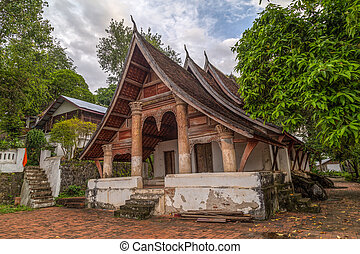 Wat Siphoutthabath old temple in Luang Prabang,  Laos