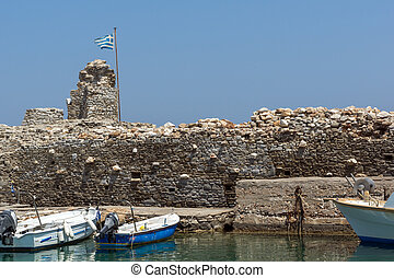 Venetian fortress, Paros island - Venetian fortress and port...