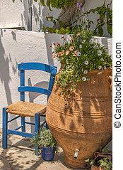Porch in the sun