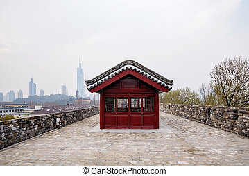 Ancient wall in Nanjing - Nanjing ancient city wall
