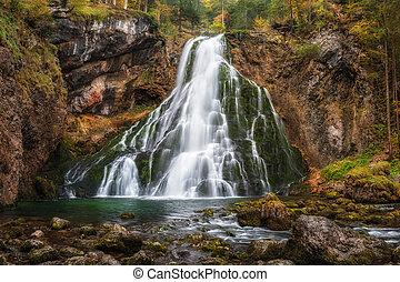 Waterfall in Mountain