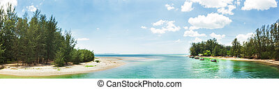 Pak Meng Beach is a tourist attraction of the province,...