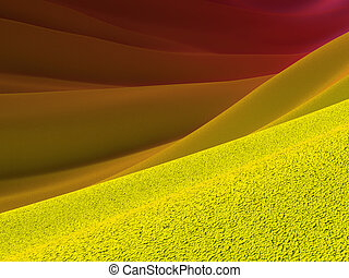 Backgrounds collection - Yellow crust and purple skies -...
