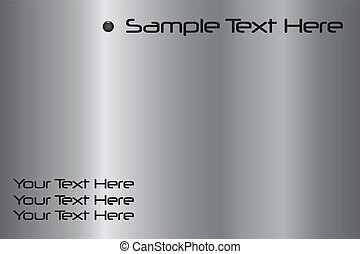 Sample Text Silver - Add your own text to this silver...