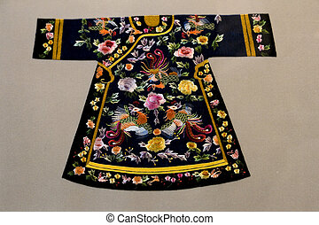 Antique Chinese Embroidery Dress