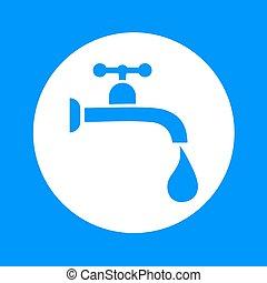 water tap symbol - Creative design of water tap symbol