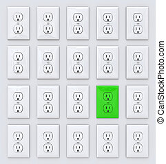 Green Power - Many Outlets