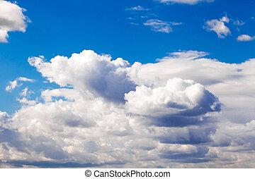 Blue sky view