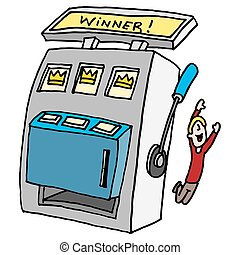 winning slot machine - An image of a winning slot machine