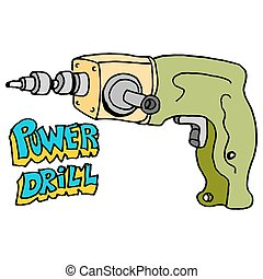 hardware power drill - An image of a hardware power drill.