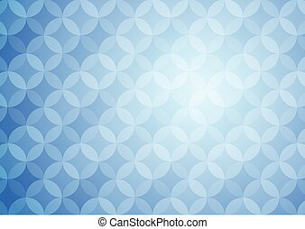 Blue Graphic Abstract Backdrop