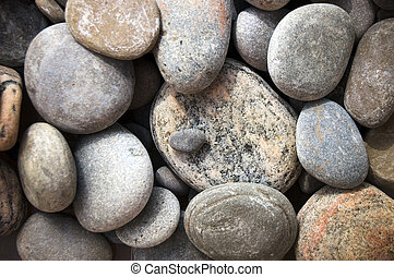 zen-like pebbles nature background
