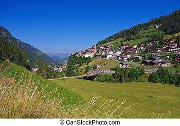 Val Gardena St Christina in Alps, Dolomites
