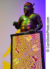Indigenous Australian man explain about the significant of...