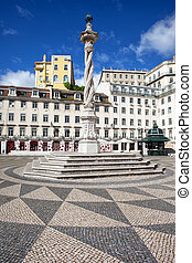 Municipal Square in Lisbon - Municipal Square Portuguese:...