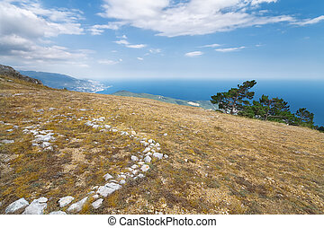 Mount Ai-Petri picture made with summer Crimea